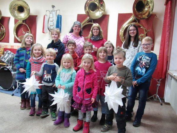 Weihnachtsfeier beim Nachwuchs der Lauenberger Sollingmusikanten