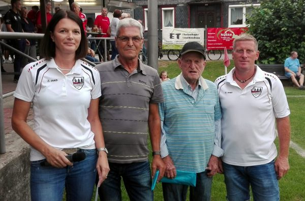 Verabschiedung der Platzwarte August Koch und Günther Gorkowski