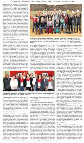 TSV und MTV prägen den Sport in der Region